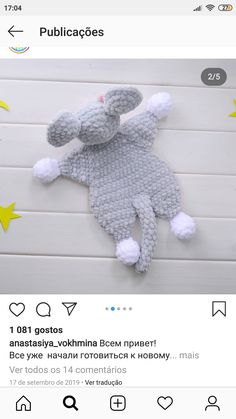 Dinosaur Stuffed Animal, Toys, Crochet, Animals, Amigurumi, Activity Toys, Animales, Animaux, Clearance Toys