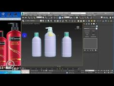 Product bottle modeling & rendering Tutorial in studio max - Part . 3d Max Tutorial, 3d Max Vray, V Ray Materials, Cinema 4d Tutorial, Autodesk 3ds Max, Modeling Tips, Architecture Visualization, 3d Studio, Digital Art Tutorial