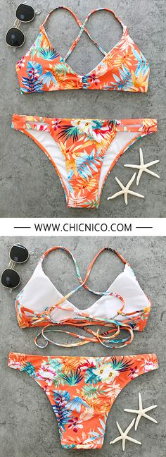 There will be a hit—hot girl. In this Summers hottest shade with on trend print and triangle style.we can't wait to rock this baby on the beach!