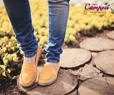 Alpargatas amarelas para iluminar o seu dia e combinar com as flores lindas da estação! *_*