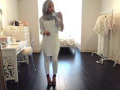 Maria Alia hijabi fashionista minimalism inspiration neutrals