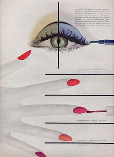 US VOGUE May 1955 | Still Lifes Herbert Matter | Millie Motts flickr.