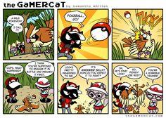GamerCat   Birdbrained