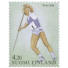 Postage Stamps, Paper, Seals, Finland, Sports, World, Stamps