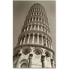 Trademark Fine Art Pisa Tower II Canvas Art by Chris Bliss, Size: 12 x 19, Multicolor