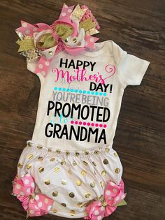 Happy Mothers Day You're Being Promoted to by SweetTeaSpecialties