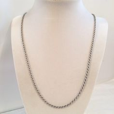 A personal favorite from my Etsy shop https://www.etsy.com/listing/225454202/sterling-silver-925-2mm-twist-rope-chain
