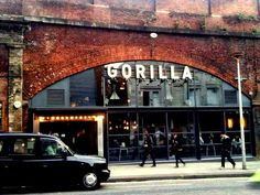 UK Travel Room - A weekend in Manchester - Gorrila bar