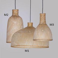 Bamboo - PUUR design is officieel dealer van Ay illuminate Contemporary Dining Room Lighting, Dining Lighting, Kitchen Lighting, Chandelier Lighting, Rattan Lamp, Bamboo Lamp, Bamboo Pendant Light, Ay Illuminate, Basket Lighting