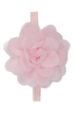 PLH Bows & Laces Chiffon & Tulle Flower Head Wrap (Baby Girls) available at #Nordstrom