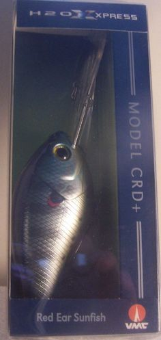 Academy Sports Model  NCRD Deep Diving Crankbait Redear Sunfish   color #AcademySports