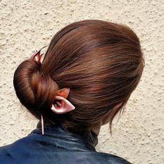 Calla lily hairstick hairpin hair chopstick flower