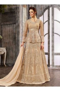 61429ef458 Buy in UK, USA and CanadaOff White Net color wedding wear Ghagra Choli