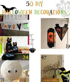 50 DIY Halloween Decorations