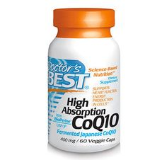 High Absorption CoQ10 contains pure, vegetarian coenzyme Q10 plus BioPerine®. CoQ10 is a nutrient that supports heart function and promotes energy production in cells. BioPerine, an standardized herbal extract derived from black pepper fruit, promotes absorption of nutrients in the GI tract. Preliminary studies have shown that BioPerine® increases CoQ10 absorption. Long description in our web shop.