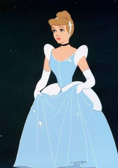Cinderella shown with grace,beauty,and love,and above all a dreamer!