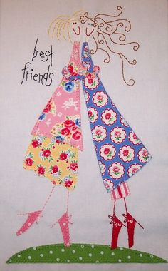 so cute! best friends block! http://sewinglyalong.blogspot.com/2012/04/another-week-more-blocks.html#