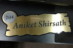 Decorative name plates for your beautiful home... call me for more, can send it through courier all over India.... +919923700120