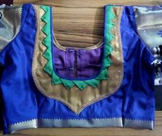 Patch Work Blouse Designs, Blouse Back Neck Designs, Neck Pattern, Saree Blouse, Pattern Making, Sarees, Blouses, Traditional, Patterns