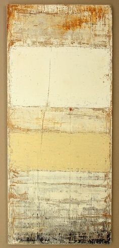 paint residues - 2013 - 114,5 x 50 x 2,1 cm - mixed media on timber board - art by Christian Hetzel - www.hetart.com