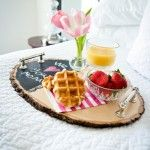 Perfect DIY Ideas: Live Like Royalty With These DIY Serving Trays - T...
