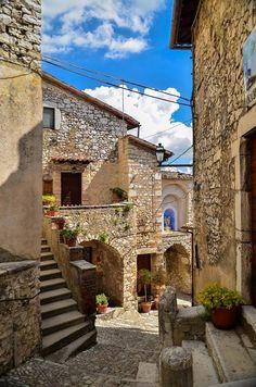 Labro, provincia di Rieti. Lazio