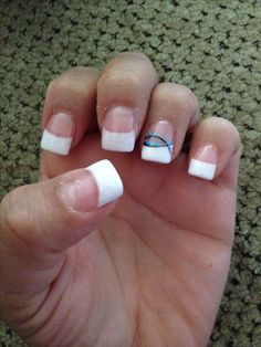 Christian nail art. Always be thankful :)