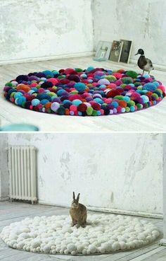 Fuzzy carpet