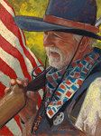 Sheriff by Rita Kirkman Pastel ~ 12 x 9 inches