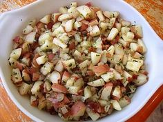 AMISH RECIPES - HOT DUTCH POTATO SALAD