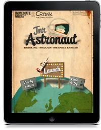 Junior Astronaut Breaking through the sound Barrier Crank Publishing Company LTD; Intermediate Media Company Grades 1-3 rocket science, aerodynamics