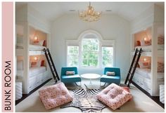 Because if you have to have bunk beds, this is what they should look like.   #Bedroom