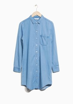 & Other Stories | Denim Shirt Dress