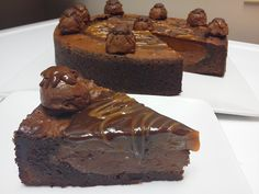 SILK DREAM DEEP DISH BROWNIE. Chocolate, caramel dessert. Shop online www.soulfullyyoursonlinebakery.com