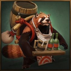 #dota2 A very cute courier, I wanna buy one! :D (Has video in the link.)- Steam 工作坊 :: Coco the Courageous