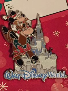 Walt Disney World Mickey Reindeer Holiday Pin