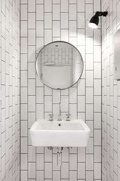 Vertical Subway Tile long subway tile commercial bathroom installation - google search