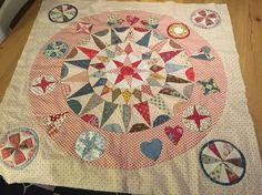Keuzes Circle Quilts, Star Quilts, Quilt Blocks, Appliqué Quilts, Antique Quilts, Vintage Quilts, Pattern Blocks, Quilt Patterns, Petra Prins