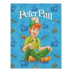 Peter Pan Sitting Down Poster $12.55