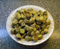 Healthy oven fried okra
