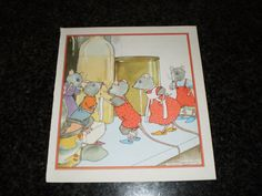Vintage children's book illustration   mouse by pureplusproducts, $10.00