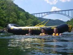 With two pick-up trucks and two rubber rafts that were custom made by an Army surplus boat company, Jon, Tom, Chris and Melanie Dragan started rafting the New during summer breaks from college. In Wildwater's first year, less than 80 people went down the river. But it was from this simple beginning that an industry was born.