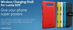 Genuine Nokia Lumia 820 Shell Cove Case Cc3041. Red Free P&P Wireless