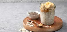 Make this filling overnight oats recipe with just 6 simple ingredients. This protein-packed breakfast is naturally sweet and full of fiber!