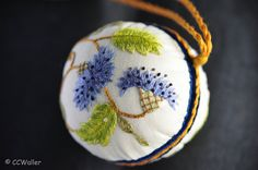 Embroidered Pin Cushion 1 | criswa | Flickr