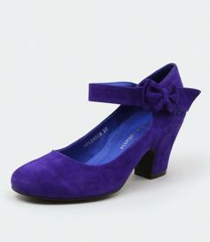 Yep, these are my wedding shoes. Splendid Purple from Django & Juliette.