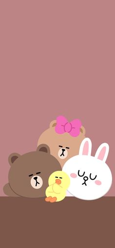 Ideas Wall Paper Cartoon Iphone Phone Cases For 2019 Cute Pastel Wallpaper, Brown Wallpaper, Bear Wallpaper, Kawaii Wallpaper, Wallpaper Iphone Cute, Cellphone Wallpaper, Lines Wallpaper, Wallpaper Backgrounds, Friends Phone Case