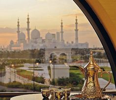 From @elitetraveler Tag your friends and follow us for more... Winter sunshine and Arabian hospitality await you in the capital of the United Arab Emirates. View of Sheikh Zayed Grand Mosque from The Ritz-Carlton. ___________________________________ Total Guide to Abu Dhabi: Where to Stay featured in our January/February Issue by Julia Wheeler. #TravelTuesday #EliteTraveler #latestinluxury #abudhabi #ritzcarltonhotel