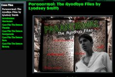 Paranormal: The Ayodhya Files Right here, right now, the brothers Rama and Lakshmana are battling demons in Boston and New York, unaware that they are caught up in a thousands-year old battle being fought all over again. LINK: https://sites.google.com/site/paranormaltheayodhyafiles1/