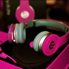 PINK BEATS. I just died. Although the green or purple rock too...